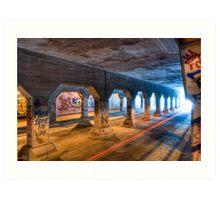 Out Of Reach - Krog Street Tunnel in Atlanta Art Print