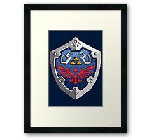 Hylian Shield Framed Print