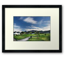 The Fairest Cape #1 Framed Print