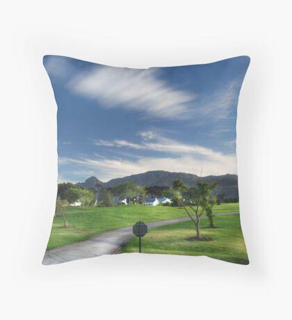 The Fairest Cape #1 Throw Pillow