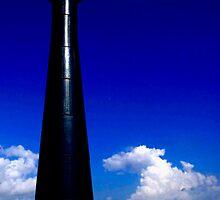 Matagorda Lighthouse by Janice Crayton