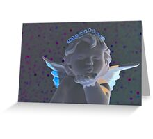 Christmas:  Glowing Holiday Kisses Greeting Card