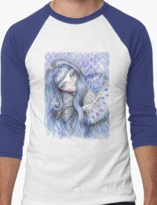 Snow Queen Men's Baseball ¾ T-Shirt