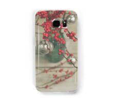 Winter Holly Berries Samsung Galaxy Case/Skin