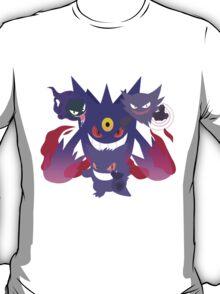 POKEMON Gastly - Haunter - Gengar T-Shirt