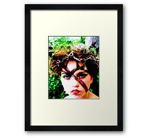 Tree Faery Framed Print