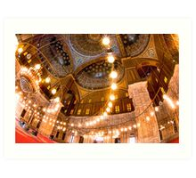 Lift Me Up - Cairo Landmark Mosque Art Print