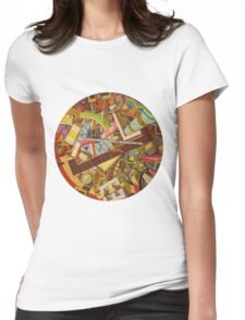 """Cosmic Consciousness 2""  Womens Fitted T-Shirt"