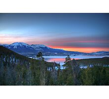 Lake Dillon East Sunset Photographic Print