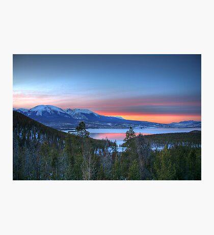 Lake Dillon East Sunset Photographic Print