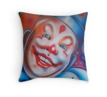 Clown. Throw Pillow