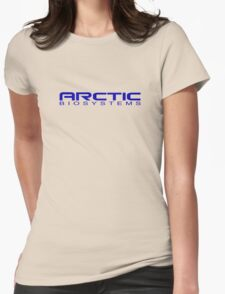 Helix - Arctic Biosystems - Blue Womens Fitted T-Shirt
