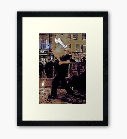Fire Dancer I Framed Print
