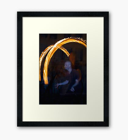 Fire Dancer II Framed Print