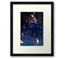 Fire Dancer III Framed Print