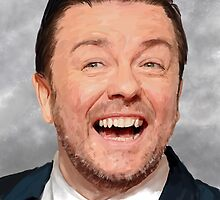 Ricky Gervais by MaxRH