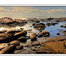 Low Tide at Kidd's Beach by Warren. A. Williams