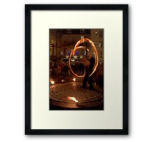 Fire Dancer IV Framed Print