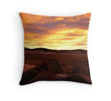 The Day Gently Ends Throw Pillow