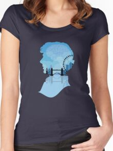 Sherlock's London Women's Fitted Scoop T-Shirt