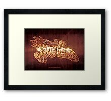 You Can't Take the Sky from Me (print) Framed Print