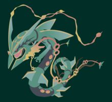 Mega Rayquaza by Roes Pha