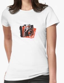 Andy Love Holga Too !! Womens Fitted T-Shirt