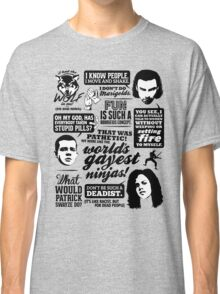 Being Human Quotes Classic T-Shirt