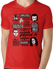 Being Human Quotes Mens V-Neck T-Shirt