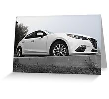 2015 Mazda3 Greeting Card