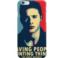 Saving People, Hunting Things iPhone Case/Skin