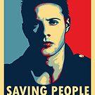 Saving People, Hunting Things by Avia Asner