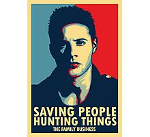 Saving People, Hunting Things Photographic Print