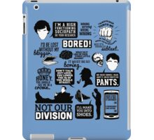 I'd Be Lost Without My Blogger iPad Case/Skin