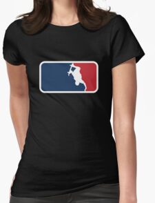 Skateboarding Womens Fitted T-Shirt