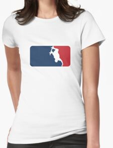 Skateboarding Womens Fitted T-Shirt