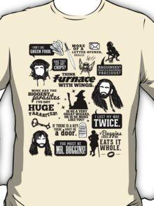 Hobbit Quotes T-Shirt