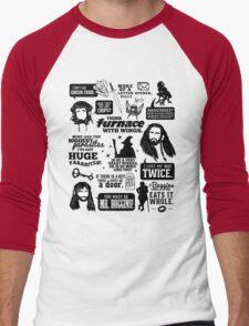 Hobbit Quotes Men's Baseball ¾ T-Shirt