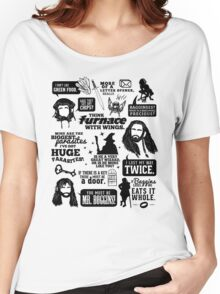 Hobbit Quotes Women's Relaxed Fit T-Shirt