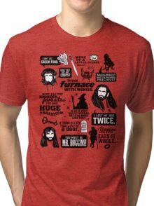Hobbit Quotes Tri-blend T-Shirt