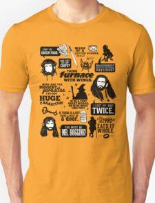 Hobbit Quotes Unisex T-Shirt