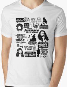 Hobbit Quotes Mens V-Neck T-Shirt
