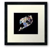 Fairy Tail Guild Framed Print