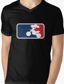 Freestyle Motocross Mens V-Neck T-Shirt