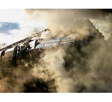 steam train Photographic Print