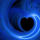 Blue Moon Heart by Kim Pease