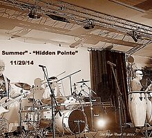 """The Real, """"White Summer"""" Band  by Deb  Badt-Covell"""