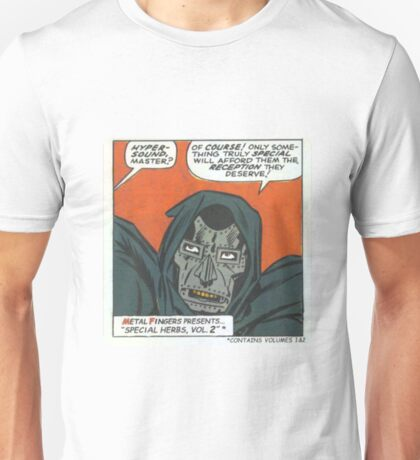 MF Doom - Metal Fingerz Unisex T-Shirt