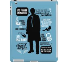 Castiel Quotes iPad Case/Skin