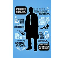 Castiel Quotes Photographic Print